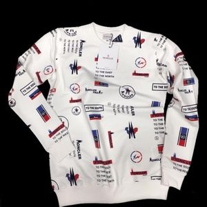 Moncler Men Sweater New wit Tags White